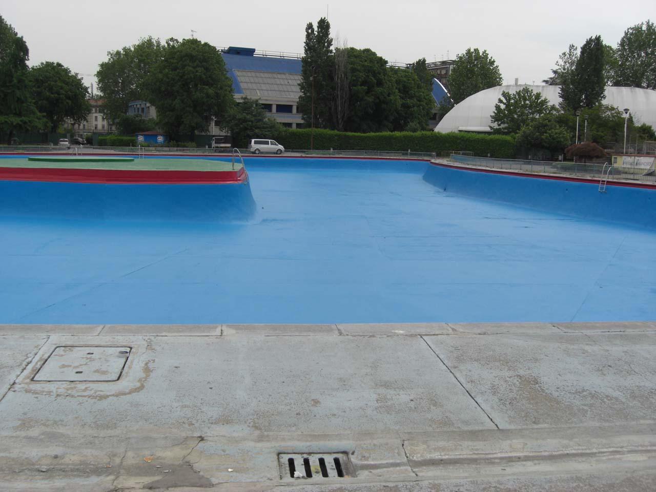 """CoCoter snc: fotografia """"Milano Palasport piscina"""""""