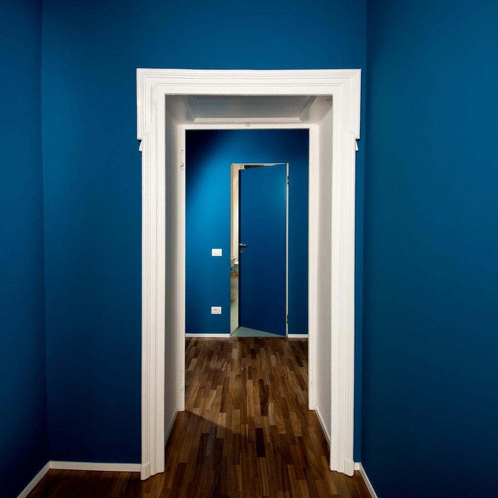 """CoCoter snc: fotografia """"Ristrutturazione appartamento dell'800, stanze blu"""""""